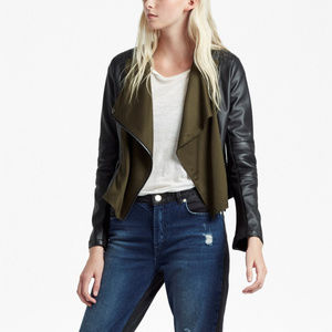 FRENCH CONNECTION Biker Jacket
